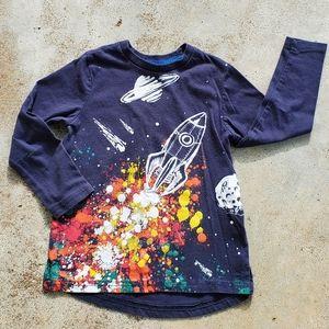 Rocket blast long sleeve tshirt